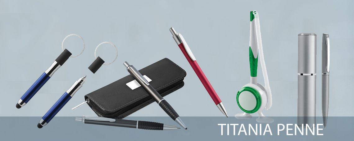 Penne promozionali e accessori da ufficio e da scrivania